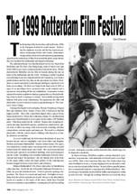 The 1999 Rotterdam Film Festival