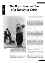 The Boys': Examination of a Family in Crisis
