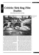Criticks: Sirk-ling Film Studies