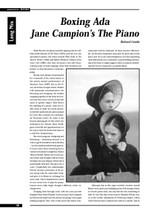 Boxing Ada: Jane Campion's 'The Piano'