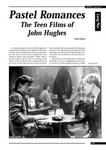 Pastel Romances: The Teen Films of John Hughes