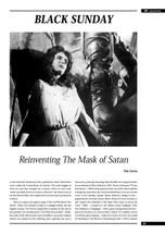 Black Sunday': Reinventing 'The Mask of Satan'