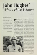 John Hughes' 'What I Have Written'