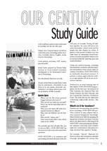 Our Century' (A Study Guide)