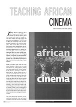 Teaching African Cinema
