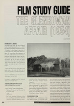 The Glenrowan Affair' (A Study Guide)