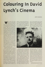 Colouring in David Lynch's Cinema