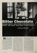 Bitter Chocolate: Gender Equity and Prime Time Magazine Sport on New Zealand Television