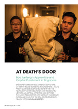 At Death's Door: Boo Junfeng's Apprentice and Capital Punishment in Singapore