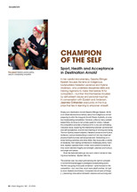 Champion of the Self: Sport, Health and Acceptance in Destination Arnold
