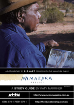 Namatjira Project - Section five:  Language