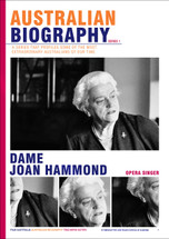 Australian Biography Series - Dame Joan Hammond (Study Guide)