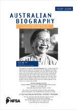 Australian Biography - Lily Ah-Toy (Study Guide)