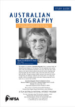 Australian Biography - Shirley Strickland de la Hunty (Study Guide)