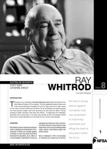 Australian Biography Series - Ray Withrod (Study Guide)