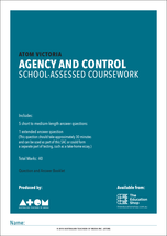 2018 ATOM Agency and Control SAC for VCE Media Unit 4, Outcome 2