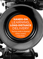 Hands-On Learning, Long-Distance Delivery: Teaching Media to Dispersed Tertiary Students: A Case Study