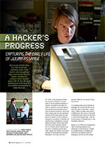 A Hacker's Progress: Capturing the Early Life of Julian Assange