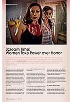 Scream Time: Women Take Power over Horror