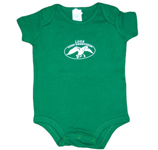 Green One-Piece with Duck Commander Logo