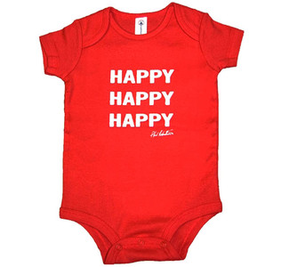 Red Happy, Happy, Happy One-Piece
