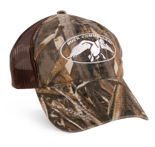 Camo and Brown RealTree Mesh Hat