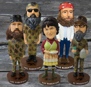 The Whole Family of Bobble Heads