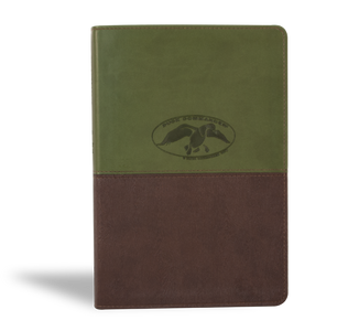 Duck Commander Faith and Family Bible, Green & Brown