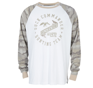 Commander Life Handler Raglan Long Sleeve Shirt  Front