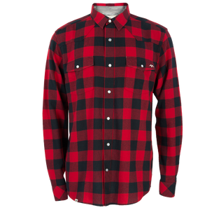Commander Life Bawl Logger Flannel Shirt front