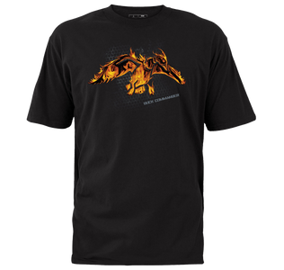 Fire Duck Logo T-Shirt