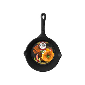 "Duck Commander Cast Iron 8"" x 1 3/4""  skillet"