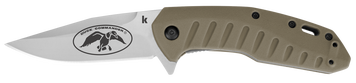 Duck Commander Bisland Knife is equipped with SpeedSafe® assisted opening