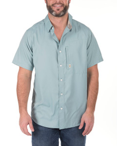 Commander Performance Blue Button-Up