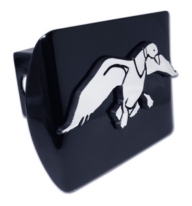 Duck Commander Chrome Duck on Black Hitch Cover