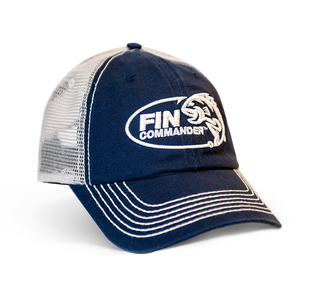 Fin Commander Hat, Navy