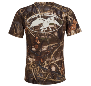 Camo Logo T-Shirt, Duck Commander