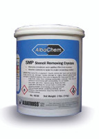 SMP Stencil Removing Crystals 2lb. Jar (Hazardous)