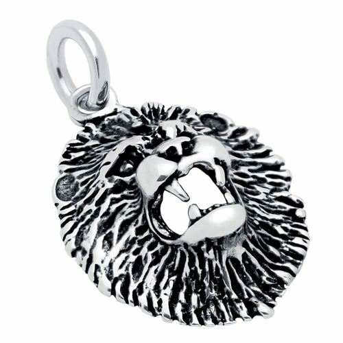 LION'S HEAD CHARM