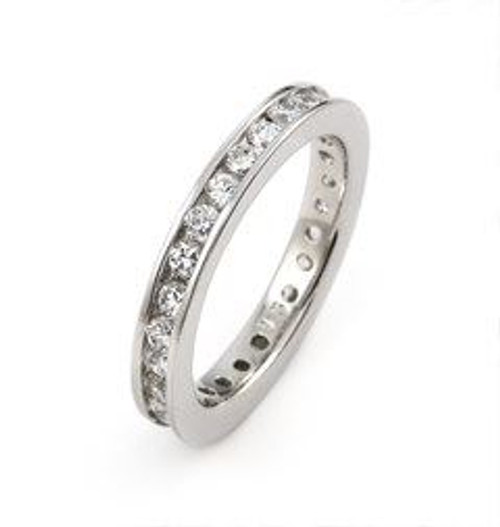ETERNITY CZ BAND RING