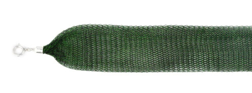 GARDEN GREEN TITANIUM MESH NECKLACE 24""