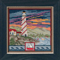 Lighthouse Cross Stitch Kit Mill Hill 2017 Buttons & Beads Spring MH141714