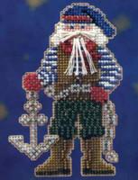 Boatswain Santa Beaded Ornament Kit Mill Hill 2010 Seafaring Santas