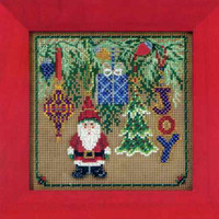 Hanging Around Bead Cross Stitch Kit Mill Hill 2011 Buttons & Beads