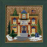 Post Office Cross Stitch Kit Mill Hill 2006 Buttons & Beads Winter