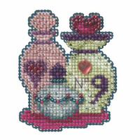Love Potions Bead Cross Stitch Kit Mill Hill 2014 Autumn Harvest