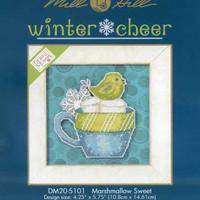 Marshmallow Sweet Bead Cross Stitch Kit 2015 Debbie Mumm Winter Cheer