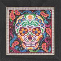 Sugar Skull Beaded Kit Mill Hill 2015 Buttons & Beads Autumn MH145204