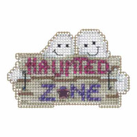 Haunted Zone Beaded Cross Stitch Kit Mill Hill 2015 Autumn Harvest MH185204
