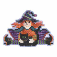 Wacky Wendy Beaded Cross Stitch Kit Mill Hill 2015 Autumn Harvest MH185201